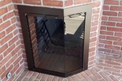 Ovation-Corner-Door-in-Burnished-Bronze